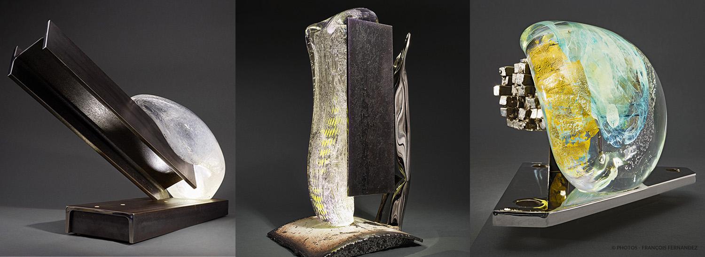 Philippe BRESSON - Sculptures lumineuses