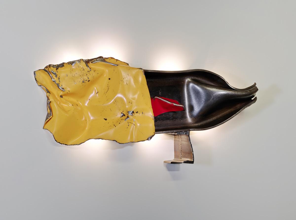 Philippe BRESSON 2014, IPN, tôle peinte, led