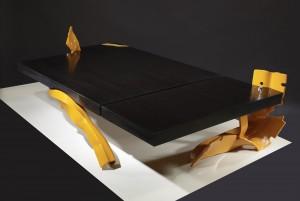 Philippe Bresson 2012, table basse La table vénitienne, dim. L : 1,50 l : 0,80 h : 0,27 m