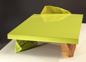 Philippe Bresson 2012, table basse La TB - 358, dim. L : 1,50 l : 0,75 h : 0,24 m