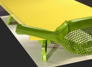 Philippe Bresson 2012, ta table Le banc public, dim. L : 1,63 l : 0,97 h : 0,30 m