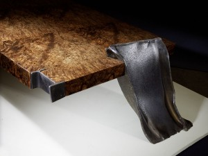 Philippe Bresson, table basse Les 4 IPN, 2012, dim. L : 1,80 l : 0,80 h : 0,30 m