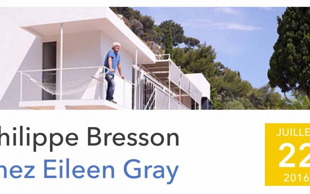 Exposition à la villa E-1027 d'Eileen Gray