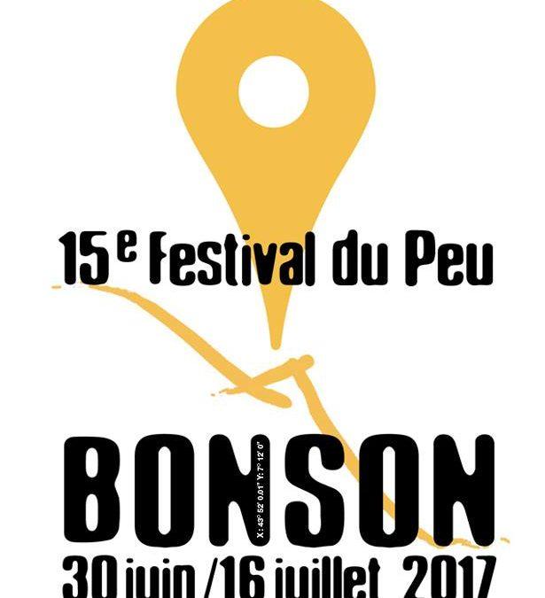 Exposition au festival du Peu